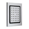 Tilting Square Bodytile Shower Body Jet, Square Head