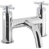 sheek Modern CHROME Bath monoblock Tap  With a featured Standard spout And a cross head Handle