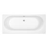 Trojan Cascade Elegant Double Ended White Bath