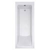 Trojan Solarna Single Ended Bath White