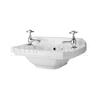 modern contempory Bathroom 515mm wall hung Cloakroom Basin (515x300)