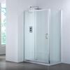 Bathroom City 1200 Sliding Shower Door & Side Panel Shower Enclosure