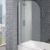bathscreen round 1400x800 8mm - 178396