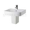 modern porcelien Bliss 520mm Basin & Semi Pedestal