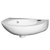 Brisbane Modern Design Round Wall Hung Bathroom and Cloakroom Wash Basin
