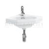 traditional Burlington Corner basin 59.8cm 1TH
