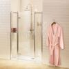 Burlington Traditional periodic Inline Hinged shower door