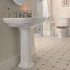 Carlyon Large Basin 715mm With Pedestal straight