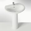 Clizia Basin And Pedestal curved