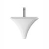 modern porcelien Grace Wall Hung Basin