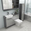 VANITY UNIT AND TOILET