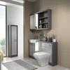 Grove 1500 Combination Vanity Unit Platinum Grey - 179250