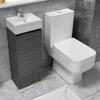 Hacienda 325 Suite Floor Standing w Close Coupled Toilet