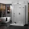 Inline Hinged door 3 Sided Shower Enclosure - 178391