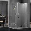 Inline hinged shower door 2 sided shower enclosure - 178390