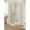 Lakes Silver Semi Framed Corner Entry Minimal Shower Cabin Stylish Stylish Bathroom Accessory