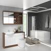 Lucido L Shape Furniture Suite White Shower Bath High Quality