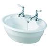 Oxford Inset Basin 545mm White Stylish Bathroom Accessory