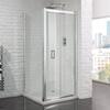 Venturi 6 Frameless Bifold Shower door 6mm - 178417