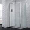 Venturi 6 Sliding Shower Door 6mm Glass Easy Clean - 178412
