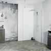 Venturi 8 New Wetroom 8mm Easy Clean Glass Panel - 178404
