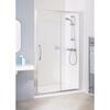 White Semi Framed Slider Door 1200 X 1850 Enclsure Luxurious Bathroom Accessory